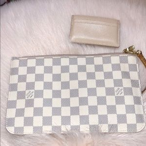 Louis Vuitton Damier Azur Pochette